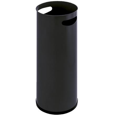 Paraplyholder sort | metal med håndgreb