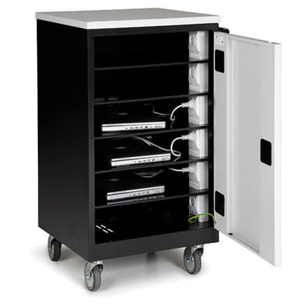 PC Vogn med 6 rum - 530 x 500 x 950 mm