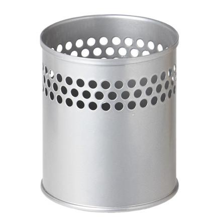 Penneholder TWIN METAL sølv