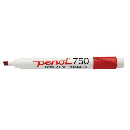 Penol 750 - Marker rød 2-5 mm