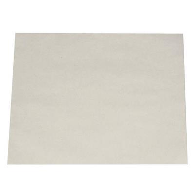 Pergament-ark, 1/6 ark, bleget greaseproof papir, 34 cm x 28 cm