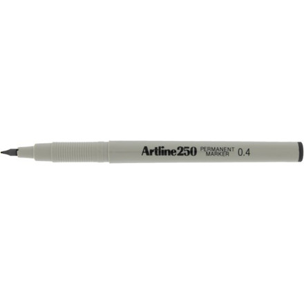 Permanent Marker Artline 250 0.4 sort
