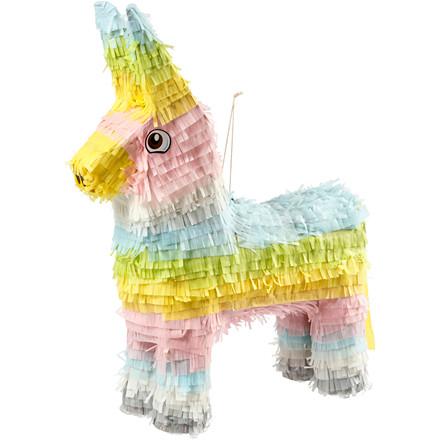 Piñata størrelse 39 x 13 x 55 cm | pastelfarver