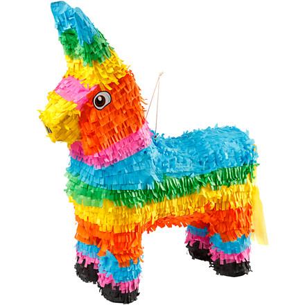 Piñata størrelse 39 x 13 x 55 cm | stærke farver