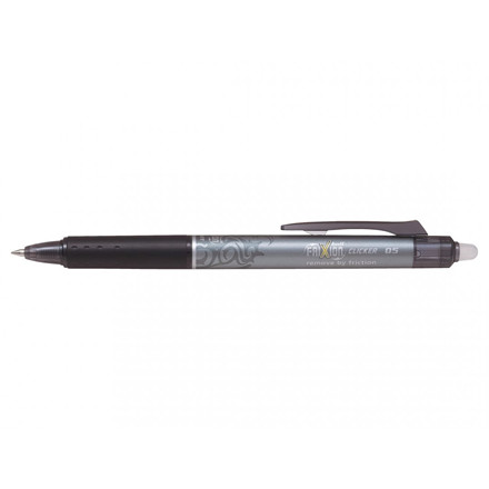 Pilot FriXion Ball Clicker 0,5 mm - Sort Rollerball Pen