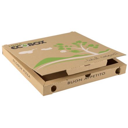 Pizzaæsker, karton, 32x32x3 cm