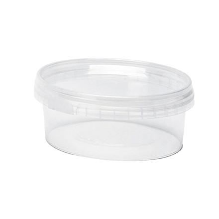 Plastbøtte + låg handy-lock PP 180 ml Ø 95 mm - 504 sæt