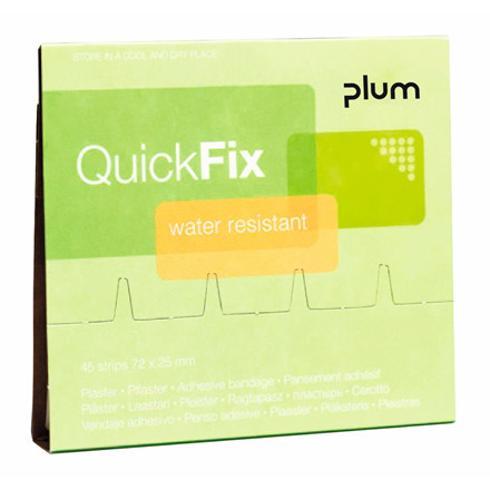 Plaster refill Water Resistant 45stk Quick Fix
