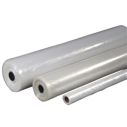 Plastik PE klar 2x50mx0,20mm 18,4kg foldet 1 gang