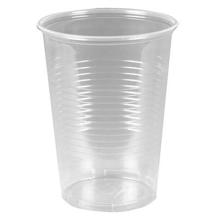 Engangsglas ølglas i blød plast 40 cl - 50 stk i en pose
