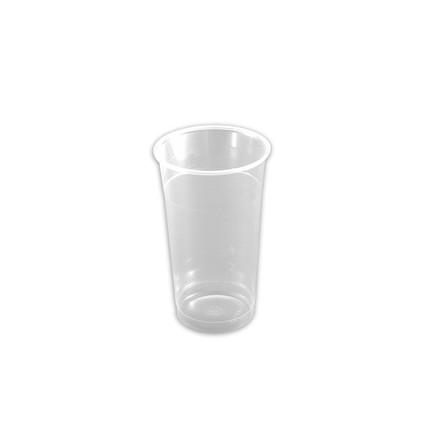 Engangsglas ølglas P502 i blød plast 40 cl - 40 stk