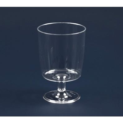 Engangsglas vinglas 15 cl med fod 1410 - 10 stk.