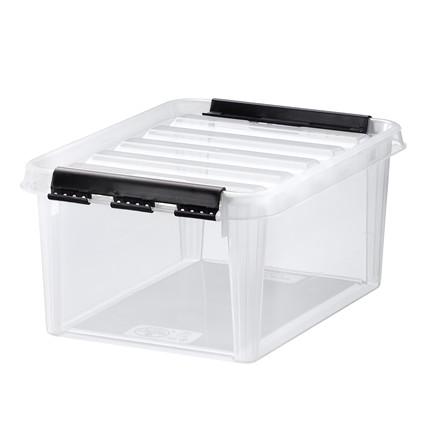 Plastkasser - Smart Store 10 Liter klar 34 x 25 x 16 cm