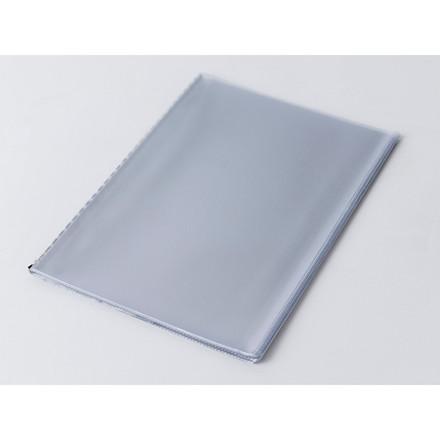 Plastlommesæt menu A4 klar m/10 lommer og hårdt bagstykke