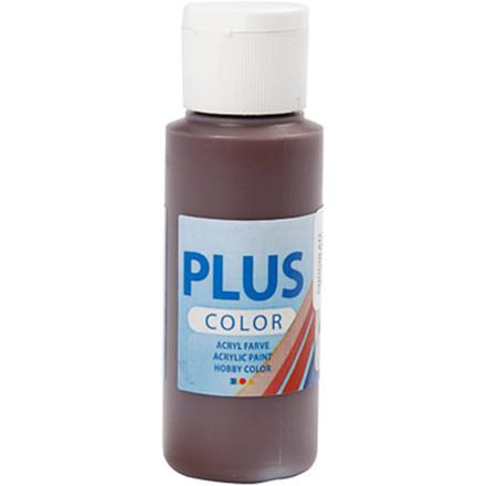 Plus Color hobbymaling chocolate - 60 ml