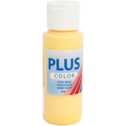 Plus Color hobbymaling, crocus yellow, 60ml