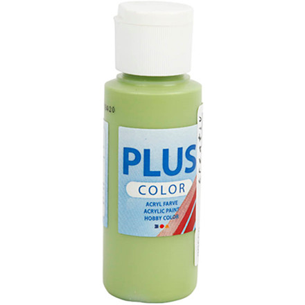 Plus Color hobbymaling, leaf green, 60ml