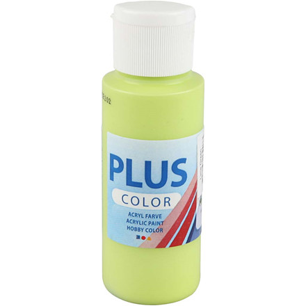 Plus Color hobbymaling lime green - 60 ml