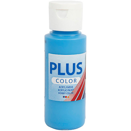 Plus Color hobbymaling, ocean blue, 60ml