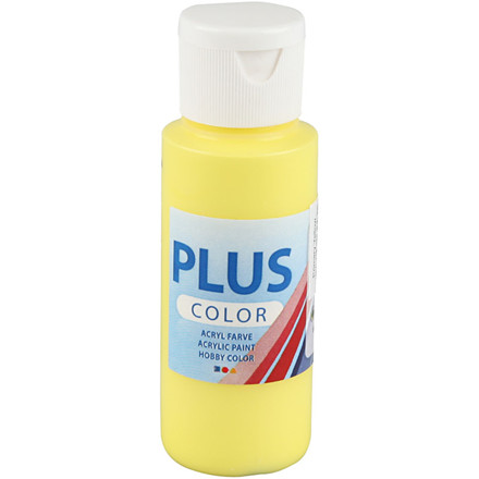 Plus Color hobbymaling primary yellow - 60 ml