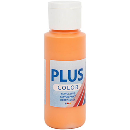 Plus Color hobbymaling, pumpkin, 60ml