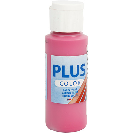 Plus Color hobbymaling, royal fuchsia, 60ml
