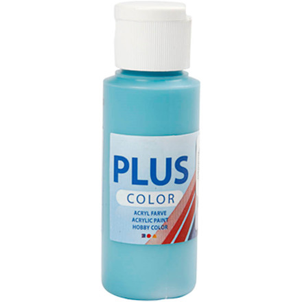 Plus Color hobbymaling, turquoise, 60ml