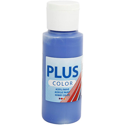 Plus Color hobbymaling, ultra marine, 60ml