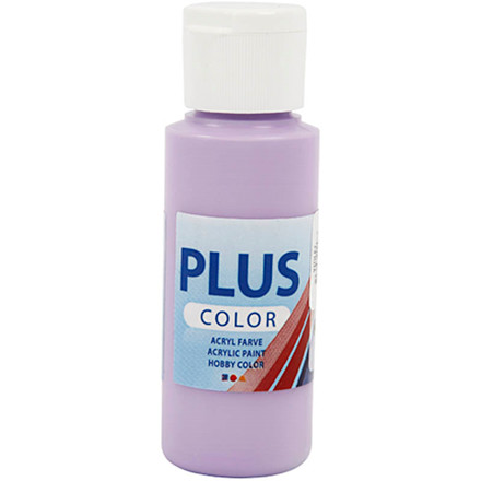 Plus Color hobbymaling, violet, 60ml