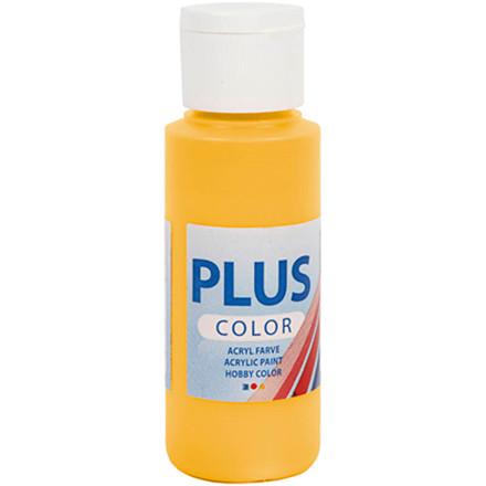 Plus Color hobbymaling, yellow sun, 60ml