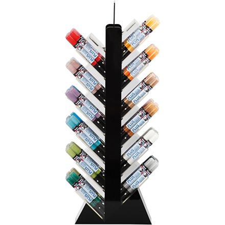 Plus Color Tusch, stregtykkelse: 1-2 mm, L: 14,5 cm, ass. farver, ekskl. display, 144stk.