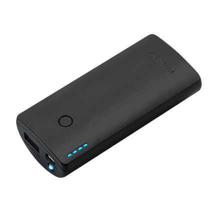 PNY PowerPack Curve - Sort Powerbank 5200 mAh