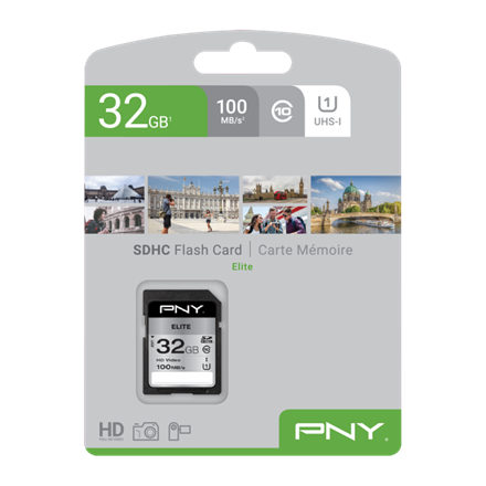 PNY SDHC High Elite 32GB Class 10