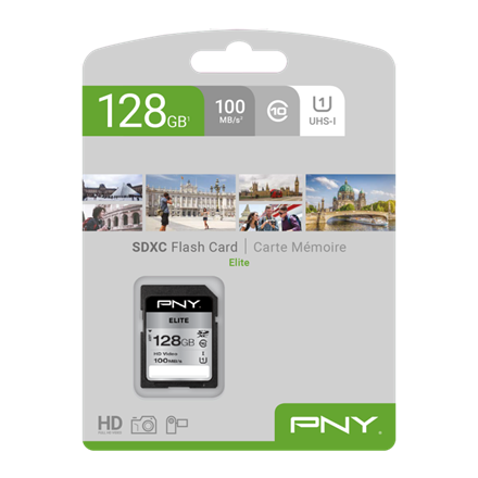 PNY SDXC High Elite 128GB Class 10