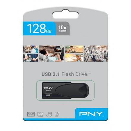 PNY USB 3.1 Attache 4 128GB, Black