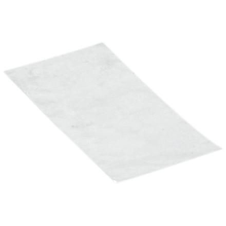 Pose, LDPE, falset til 12 cm, uden tryk, transparent, 25 my, 19x48 cm, 4 l