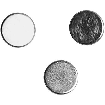 Stærke magneter dia. 5 mm tykkelse 2 mm - 10 stk.