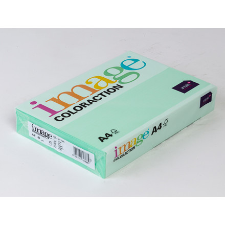 Printerpapir - Image Coloraction A4 80 gram - Enggrøn 65 - 500 ark