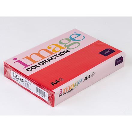 Printerpapir - Image Coloraction A4 80 gram - rød 29 - 500 ark