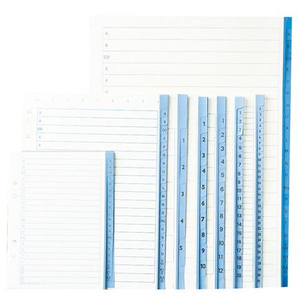 Register papir Office DEPOT A4  1-12 90g