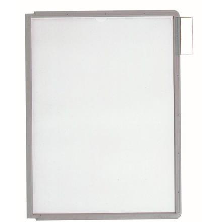 A4 registerlomme - Durable Sherpa med grå kant - 1 stk
