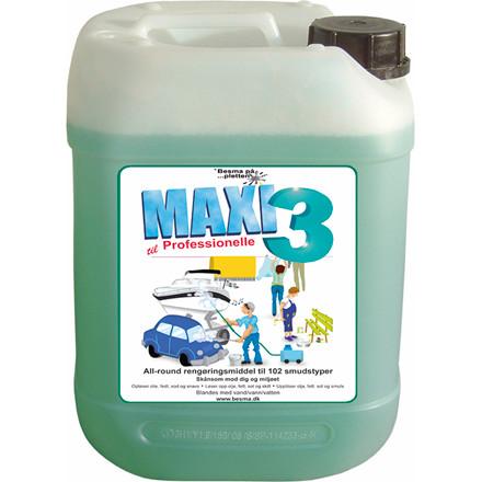 Rengøringsmiddel Maxi 3 t/olie og smuds 5L
