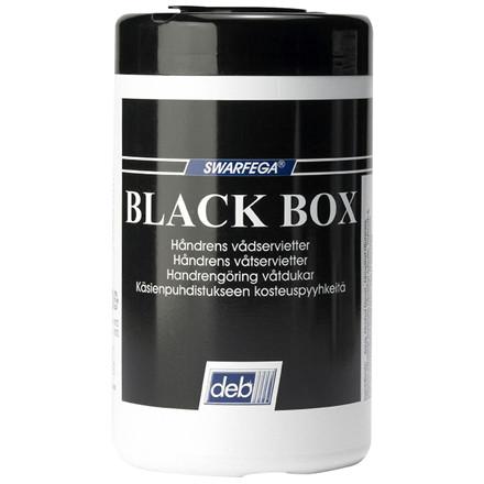 Renseserviet, Black Box, dispenser box, 50 ark
