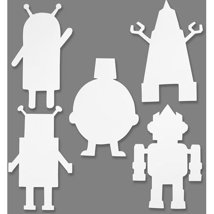 Robotter højde 22,5-24 cm bredde 15-16 cm 230 gram   16 stk.