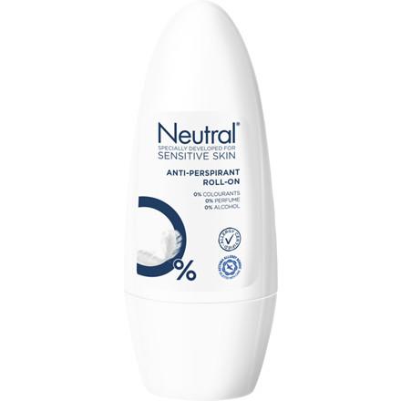 Roll-on deodorant uden parfume Neutral - 50 ml