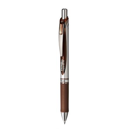Pentel  Energel Rollerpen brun 0,7mm BL77