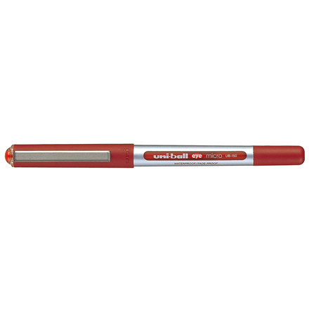 Uni-ball Eye Micro UB150 - Rød rollerpen 0,2 mm