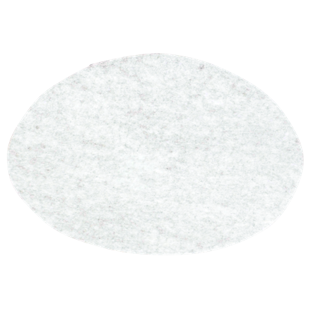 Rundfiltre med en diameter på 244 mm - 2000 stk. i kassen