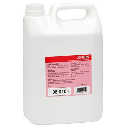 Katrin 980104 Sæbe Pink Liquid Soap - Med farve & parfume - 5 Liter