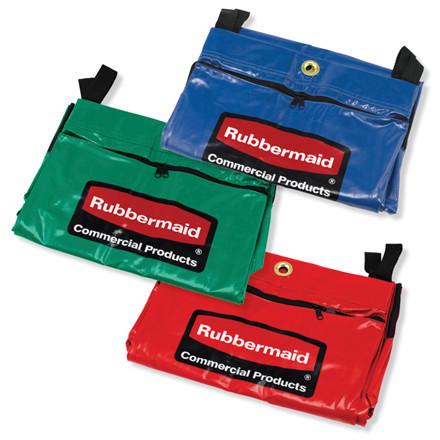 Sæk, Rubbermaid, Rød, Grøn & Blå, flerfarvet, PVC, Sæt af 3 stk. *Denne vare tages ikke retur*
